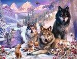 Ravensburger Wolven in de Sneeuw #160129