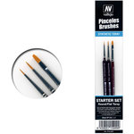 Vallejo Penselen Brushes Starter Set #P15999