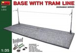 Mini Art Base with Tram Line 1/35 (36057)