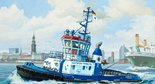 Revell Harbour Tug Boat Fairplay I, III, X 1:144 (05213)