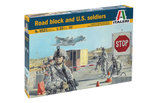 Italeri Road Block and U.S. Soldiers 1:35 (6521)