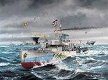 Revell Flower Class Corvette HMCS SNOWBERRY 1:144 (05132)