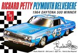 AMT Richard Petty Plymouth Belvedere 1964 1/25 (AMT989)