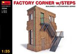 MiniArt Factory Corner with Steps 1:35 (35544)