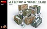 MiniArt Milk Bottles & Wooden Crates 1:35 (35573)