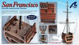 Artesania Latina San Francisco Cross Section 1:50 (20403)