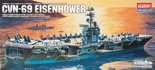 Academy USS Eisenhower CVN-69 1/800 (1440)