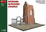 MiniArt Diorama with Ruined Church 1:35 (36030)