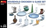 MiniArt Household Crockery & Glass Set 1:35 (35559)