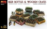 MiniArt Beer Bottles & Wooden Crates 1:35 (35574)