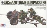 Tamiya 3.7cm Anti Tank Gun Pak35 / 36 1:35 #35035