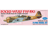 Guillows Focke Wulf FW-190 (Kit 502)