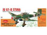 Guillow's Junkers JU-87B Stuka 1:16 (1002)