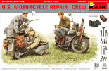 MiniArt US Motorcycle Repair Crew Special Edition 1:35 (35284)