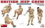 MiniArt British Jeep Crew 1:35 (35051)