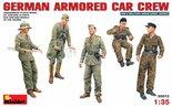 MiniArt German Armored Car Crew 1:35 (35072)