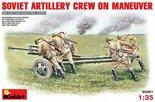 MiniArt Soviet Artillery Crew on Maneuver 1:35 (35081)