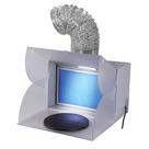Airbrush Spuitcabine met LED Verlichting en Afzuiger