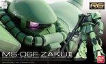 Gundam MS-06F Zaku II 1/144 RG004