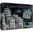 Wrebbit Game of Thrones Winterfell 3D Puzzel