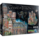 Wrebbit Game of Thrones The Red Keep 3D Puzzel