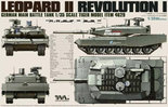 Tiger Model German Main Battle Tank Revolution I Leopard II #4629