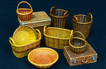 Plus Model Wicker Baskets Big 1/35 #537