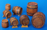 Plus Model Wooden Barrels 1/35 #204