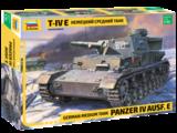 Zvezda 3641 German Medium Tank Panzer IV Ausf.E 1/35