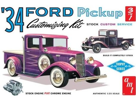 AMT '34 Ford Pickup 1:25