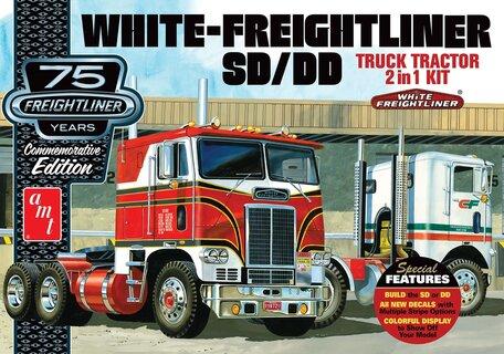 AMT White-Freightliner SD/DD 1:25