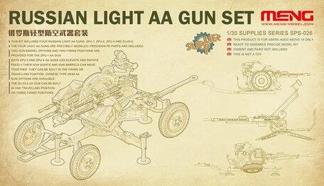 Meng Russian Light AA Gun Set 1:35