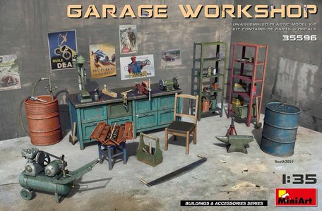 MiniArt Garage Workshop 1:35