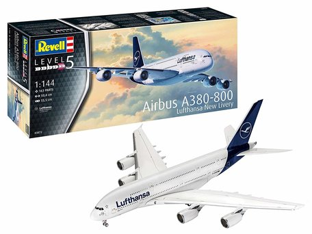 Revell Airbus A380-800 Lufthansa 1:144