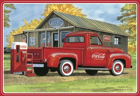 AMT '53 Ford F-100 Coca Cola Pickup Truck 1:25