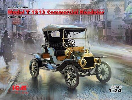 ICM Model T 1912 Commercial Roadster 1:24