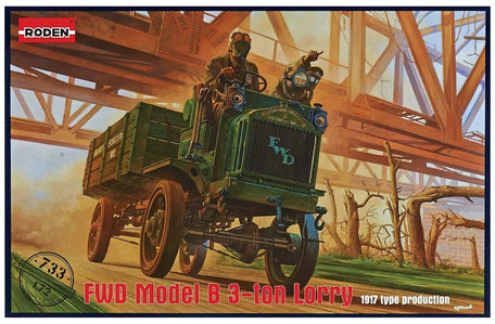 Roden FWD Model B 3 ton Lorry 1:72