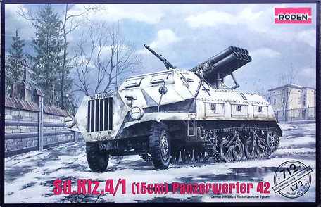 Roden Sd.Kfz. 4/1 Panzerwerfer 42 Early 1:72