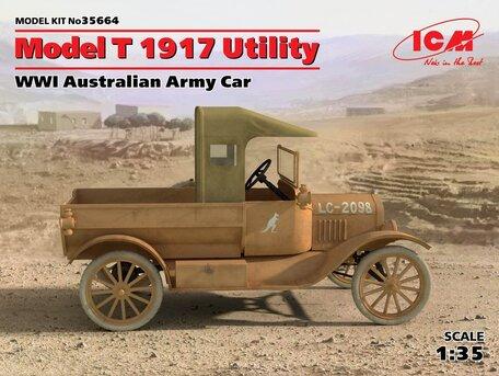 ICM Model T 1917 Utility WWI Australian Army Car 1:35