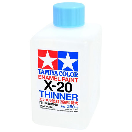 Tamiya X-20: Enamel Thinner 250 ml