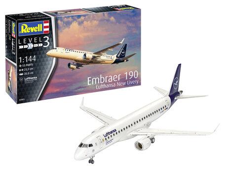 Revell Embraer 190 Lufthansa