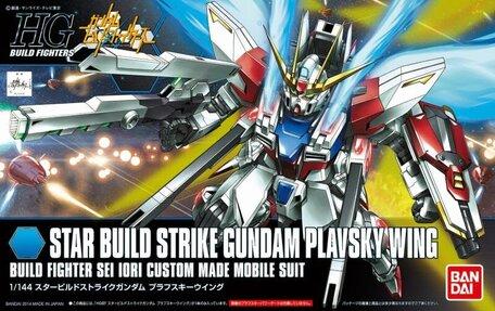 GAT-X105B/ST Star Build Strike Gundam Plavsky Wing