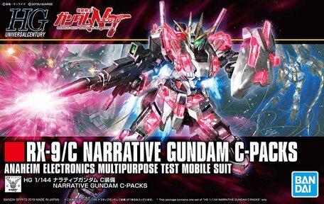 HG 1/144: RX-9/C Narrative Gundam C-Packs