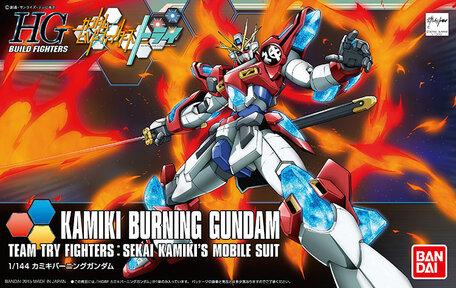 HG 1/144: KMK-B01 Kamiki Burning Gundam