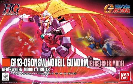 HG 1/144: GF13-050NSW Nobell Gundam Berserker Mode