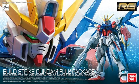RG 1/144: GAT-X105B/FP Build Strike Gundam Full Package