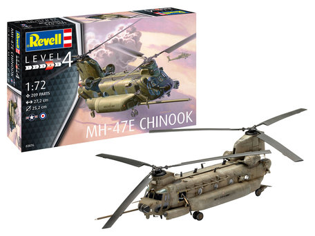 Revell MH-47E Chinook 1:72