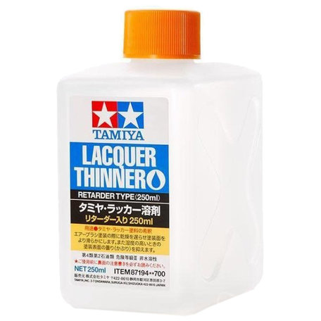 Tamiya Lacquer Thinner Retarder 250 ml