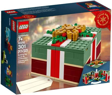 LEGO 40292 Buildable Holiday Present