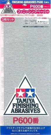 Schuurpapier P600 (Tamiya)